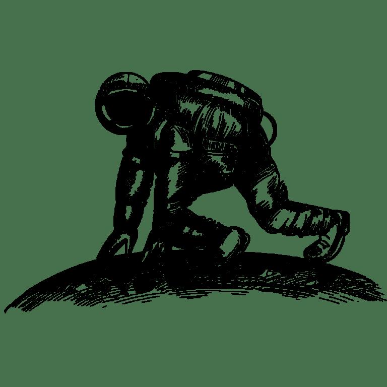 בניית אתרים - אסטרונאוט